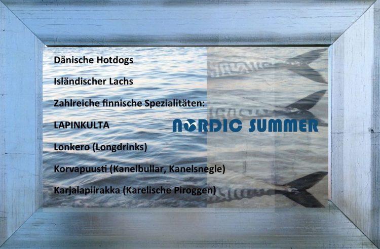 NORDIC SUMMER FOOD & DRINKS
